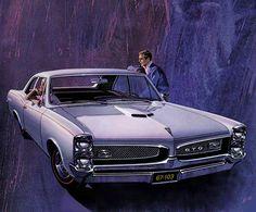 1967 Pontiac GTO Hardtop Coupe - 'Announcement Ad': Art Fitzpatrick and Van Kaufman