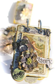 With A Grin: Prima's Natures Garden Mini Album KIT