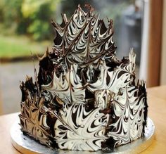 If you're looking for a cake with real WOW factor you can't go past this amazing Marble Chocolate Cake!