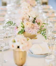Garden-Inspired #Wedding #Centerpiece Ideas. To see more wedding ideas: www.modwedding.com