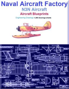 Naval Aircraft Factory N3N Aircraft Blueprints Engineering Drawings - Download - Aircraft Reports - Manuals Aircraft Helicopter Engines Propellers Blueprints Publications