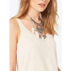 Miss Selfridge Ethnic Semi-Precious Collar ($9) ❤ liked on Polyvore featuring jewelry, necklaces, silver color, pendant necklace, feather pendant, engraved jewelry, engraving necklaces and feather necklace