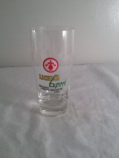 Licher Export beer glass Brauerei JHring-Mechior by ugliducklings