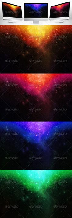 February, 2014 Freebies: Space Background - Abstract Backgrounds