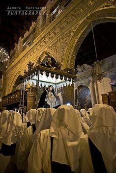 Processione del Venerdì Santo ad Enna   by Andrea Rapisarda