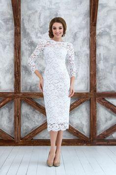 Короткие свадебные платья - Валетта, короткое свадебное платье, открытая спинка свадебного платья,  wedding dress, wedding