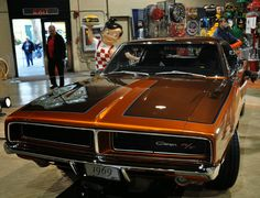 Just A Car Guy: Hinkle's Hot Rods has another hit, beautiful 1969 Charger R/T with a hemi