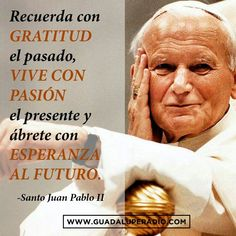 Santo Juan Pablo II. Papa Francisco Frases, Trust Gods Plan, Papa Juan Pablo Ii, Important Quotes, Pope John Paul Ii, Mother Teresa, Pope Francis, Quotes About God, Spiritual Quotes