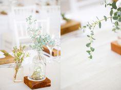 I assisted Jenni Elizabeth at this beautiful Autumn Lourensford wedding. Wedding Decorations, Table Decorations, Botanical Wedding, Projects, Beautiful, Home Decor, Log Projects, Blue Prints, Decoration Home