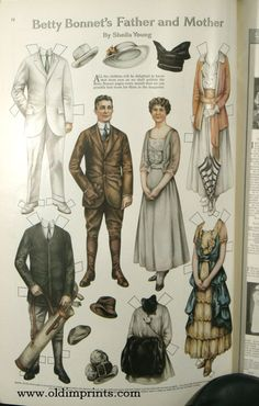 The Ladies' Home Journal. 1916 - 03 | PAPER DOLLS