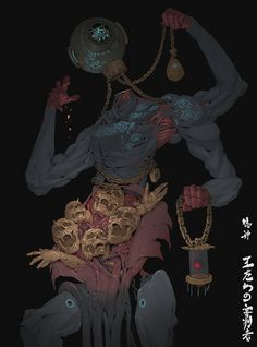ArtStation - False God : Justiciar of Fallen Kings, Ching Yeh