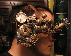 Intricate steampunk mask/facepiece