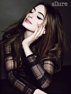 Anne Hathaway in Allure Magazine July 2012