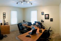 8 Tips to Create An Organized & Productive Home Office