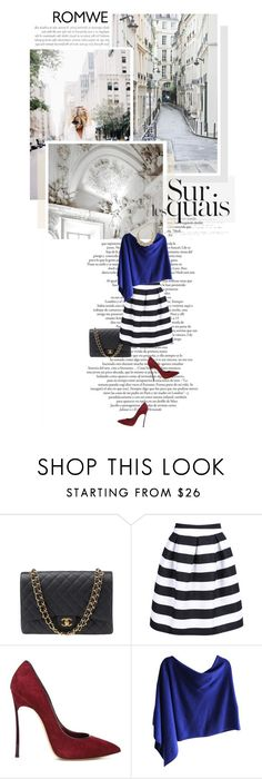 """She's whiskey in a teacup"" by sunshineb ❤ liked on Polyvore featuring Chanel, Casadei, Claudia Nichole, Kate Spade, women's clothing, women's fashion, women, female, woman and misses"