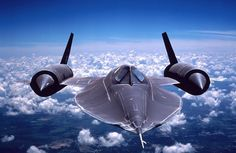 """The Lockheed """"Blackbird"""" was a long-range, Mach strategic reconnaissance aircraft that was operated by the United States Air Force. First flight retired Fighter Pilot, Fighter Aircraft, Fighter Jets, Military Jets, Military Aircraft, Photo Avion, Air Force, Airplanes, Boats"""