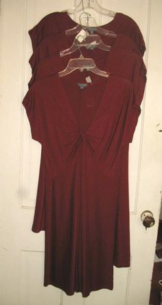 Got Maroon? Our Lilla*P dresses (new with tags) retail $148... $26 at The Attic.
