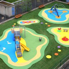 дизайн покрытия для детской площадки - Поиск в Google