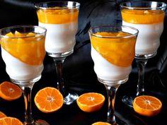 CAIETUL CU RETETE: Panna Cotta cu jeleu de portocale