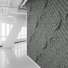 """Noisy neighbors, loud restaurants and lobbies have a new foe! Enter FeltForms: MIO's line of unique and versatile three-dimensional acoustic tiles. The two feet by two feet (24"""" x 24"""") acoustic panels"""