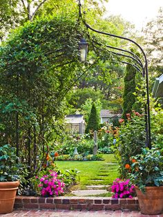 Curb appeal starts with quality landscaping that enhances the style of your home: http://www.bhg.com/home-improvement/exteriors/curb-appeal/boost-curb-appeal/?socsrc=bhgpin050314takecareoflandscaping&page=2