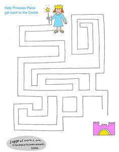 Princess Pansi Maze
