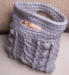 lining a crochet bag...