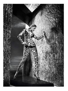 gizia fw camapign7 Juju Ivanyuk Models Sleek Style for Gizia Fall 2013 Ads by Nihat Odabasi