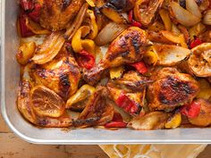 This wonderfully aromatic chicken dish is short on prep and big on flavor. It's also a great dish to make ahead the day before and reheat -- it's even tastier after the flavors meld. Serve with rice and a green salad.