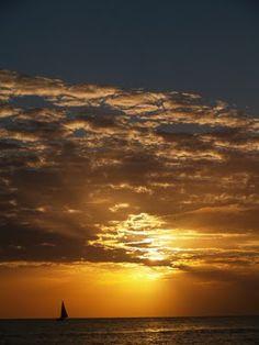Golden Sunset, La Romana Beach