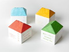 庭のハーブティー | 平野達郎 | AWRD アワード Biscuits Packaging, Cookie Packaging, Gift Box Packaging, Paper Packaging, Brand Packaging, Packaging Design Inspiration, Graphic Design Inspiration, Origami, Cosmetic Design