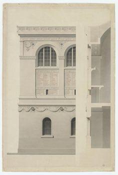 Henri Labrouste - Bibliothèque Sainte-Geneviève, 1850 (Foto: © Bibliothèque Sainte-Geneviève, Paris)