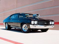 Pro Street Chevy Chevelle SS