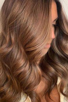 Brown Hair Balayage, Brown Blonde Hair, Hair Color Balayage, Honey Brown Hair Dye, Hazel Brown Hair, Brown Balyage, Cinnamon Brown Hair, Light Brown Hair Dye, Caramel Hair With Blonde Highlights