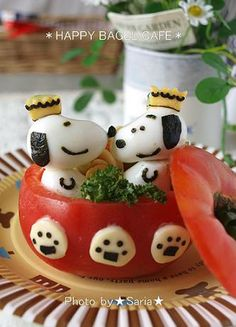 SNOOPY tomato cup
