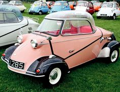 Messerschmidt 1956 oh my goodness. Don't know what this is but i would drive it.