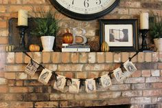 March Orchard- Halloween Fall Mantle Decor
