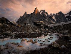 Charakusa Glacier & Fathi Brakk | By Rizwan Saddique