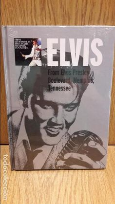 ELVIS. FROM ELVIS PRESLEY. BOULEVARD, MEMPHIS, TENNESSEE. LIBRO-CD - 10 TEMAS / PRRECINTADO.