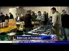 http://www.facebook.com/hoodnews247    Joe biden says a shotgun will scare off intruder