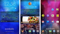 At Samsung, it seems soon to give a new version of TouchWiz, it is still unclear whether it comes with the Samsung GALAXY S5 or with the Android 4.4 Update