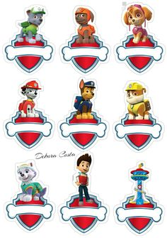 Details about Paw Patrol Edible Wafer Cup Cake Toppers Standing or Disc in 2020 Paw Patrol Cupcake Toppers, Paw Patrol Cupcakes, Paw Patrol Party Favors, Paw Patrol Birthday Theme, Rubble Paw Patrol, Second Birthday Ideas, 2nd Birthday Parties, Imprimibles Paw Patrol, Shapes Worksheet Kindergarten