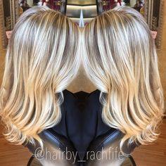 Bright blonde highlights using olaplex. hair by Rachel Fife @ SF Salon