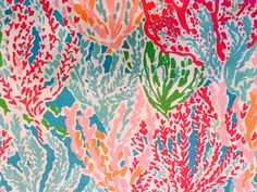 Lilly Pulitzer Let's Cha Cha fabric piece. Lilly Pulitzer Vinyl, Outdoor Fabric, Poplin Fabric, Craft Supplies, Texture, Cotton, Crafts, Handmade, Painting