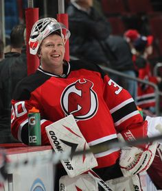 Martin Brodeur - my all time favorite goalie!  Saw him in Stanley Cup Game Devils vs. Ducks... awesome!