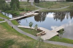 How Umeå Campus Park is Closing the Gap Between Work and Nature