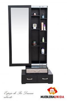 Mobiliario de peluquria y salones de belleza gamma for Espejos de pie de diseno