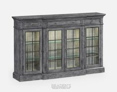 Furniture in Knoxville - Knoxville Home Décor - Braden's Lifestyles Furniture - Solid Wood Furniture - Home Interiors - Knoxville Interior Design - The Design Center at Braden's - Display Case