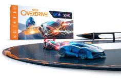 Featuring tech so advanced it feels like the future, Anki OVERDRIVE is the world's most intelligent battle racing game where you use your mobile device to take control of robotic Supercars on tracks you construct in seconds!