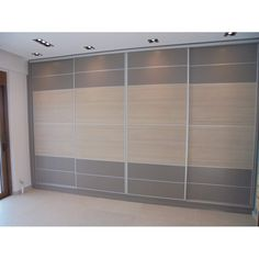 #closet#sliding#4doors#oak#grey#laminate#alfawood Grey Laminate, Divider, Room, Closet, Furniture, Home Decor, Bedroom, Armoire, Decoration Home